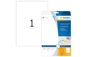 TRANSPARENT LABELS HERMA N.4375